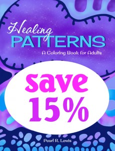 Save on Healing Patterns Coloring Book