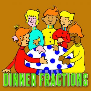 Dinner Fractions Worksheet by Dr Pearl R. Lewis