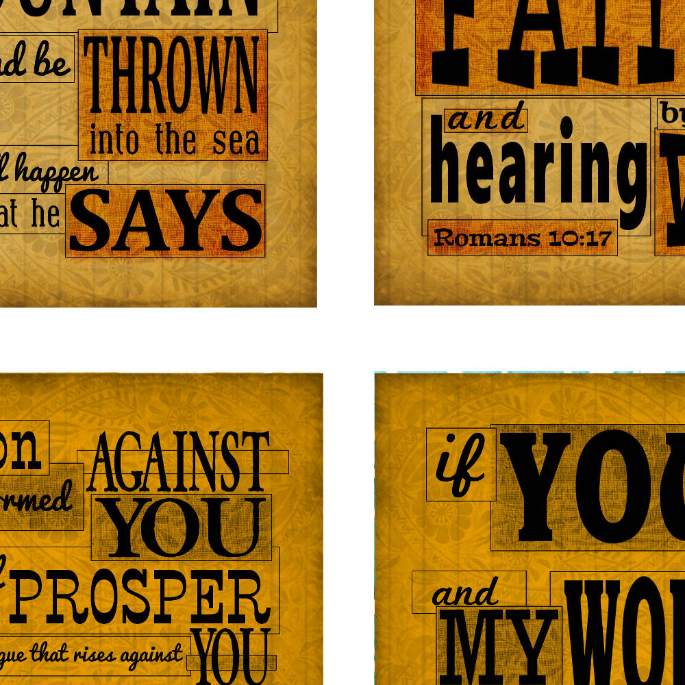 Sepia Faith scripture cards from www.DrPearlLewis.com