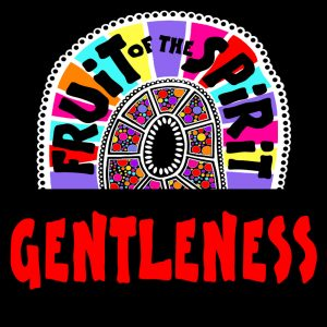 Gentleness - Fruit of the Spirit Coloring Book for Adults and Teens by Pearl R. Lewis - Galations 5:22-23