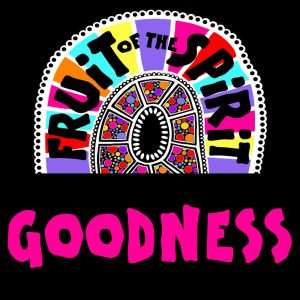 Goodness - Fruit of the Spirit Coloring Book for Adults and Teens by Pearl R. Lewis - Galations 5:22-23