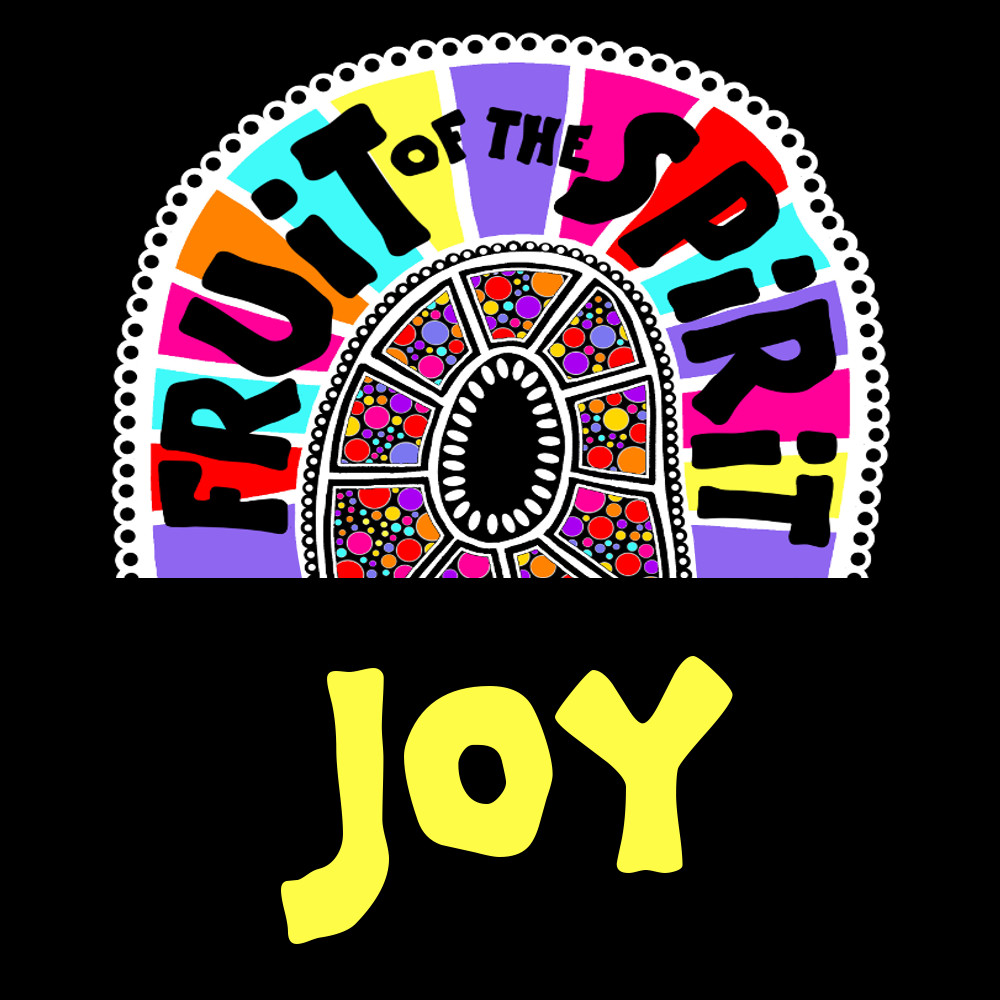 Joy - Fruit of the Spirit Coloring Book for Adults and Teens by Pearl R. Lewis - Galations 5:22-23