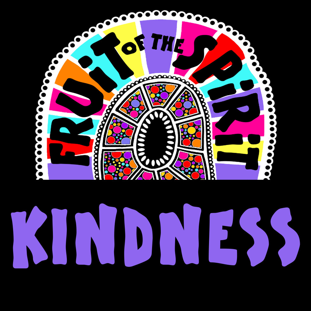 Kindness - Fruit of the Spirit Coloring Book for Adults and Teens by Pearl R. Lewis - Galations 5:22-23