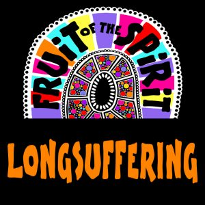 Longsuffering - Fruit of the Spirit Coloring Book for Adults and Teens by Pearl R. Lewis - Galations 5:22-23