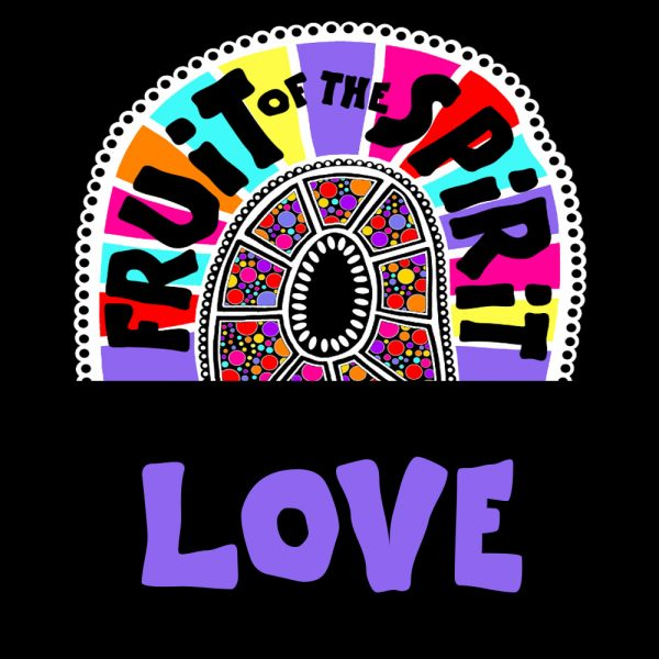 Love - Fruit of the Spirit Coloring Book for Adults and Teens by Pearl R. Lewis - Galations 5:22-23