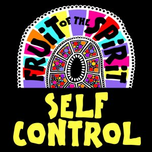 Self-control - Fruit of the Spirit Coloring Book for Adults and Teens by Pearl R. Lewis