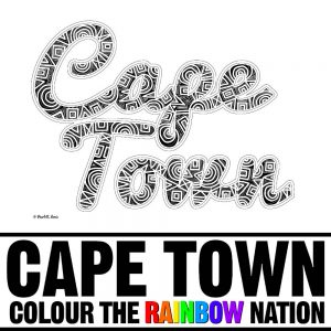Cape Town: Colour the Rainbow Nation by Pearl R. Lewis - Ethnic African patterns