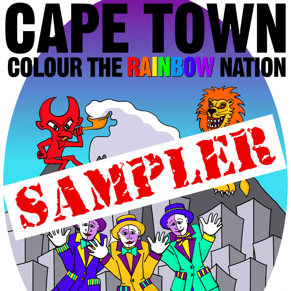 FREE Cape Town Coloring Book Sampler available from www.DrPearlLewis.com