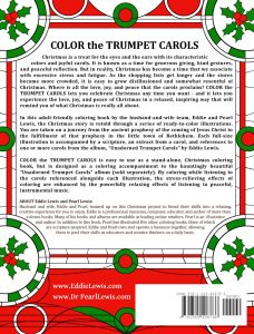 Color the Trumpet Carols by Pearl R. Lewis