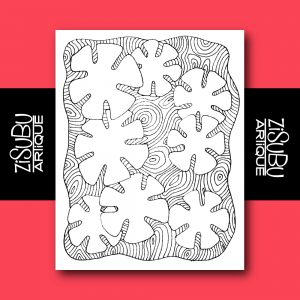 #ZisubuArtique - Hand-drawn Greeting Cards by Pearl R. Lewis