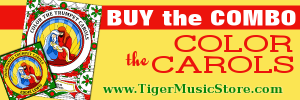Color the Carols COMBO from www.TigerMusicStore.com