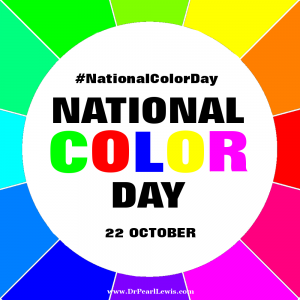 National Color Day - 22 October - Celebrate by Filling Your World with Color - #ZisubuArtique