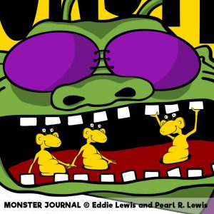 Monster Journal by Eddie and Pearl Lewis